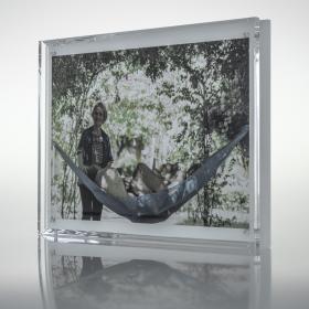 Porta Retrato  Ensemble - Cristal - 21 x 16 x 3 cm