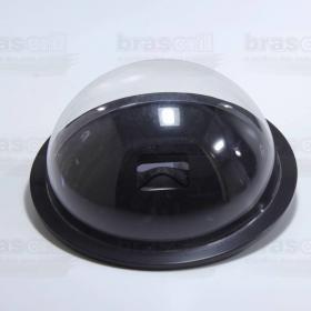 Dome Go Pro compatível com todos modelos, na cor Preto, com 16 cm de diâmetro e 7cm de profundidade