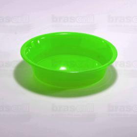 Pote de Ração Verde 16cm de diâmetro x 4cm de profundidade